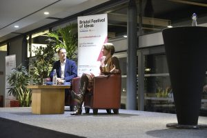 Stephanie Flanders Talk, Festival of Economics 2017, Bristol